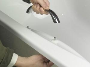 Fitting bath hand grips
