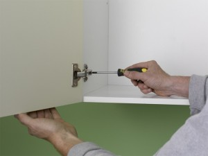 attaching kitchen doors to units