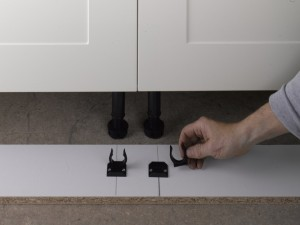 kitchen plinth brackets