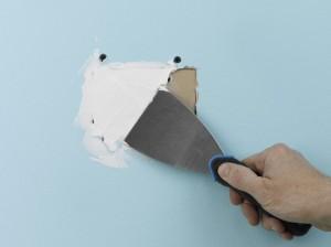 filling holes in walls
