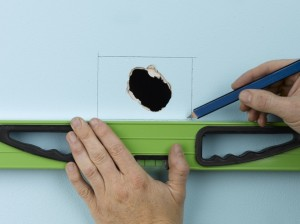 fix hole in wall