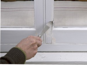 removing putty