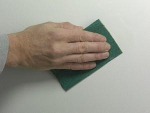 sanding walls