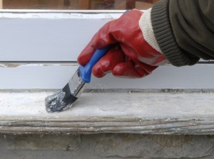 removing paint from wood