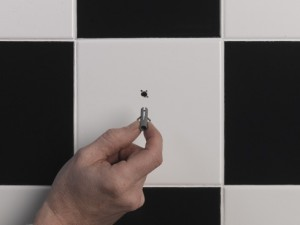 inserting wall plug