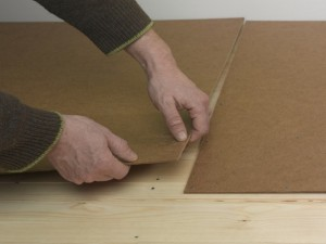 joining hardboard sheets
