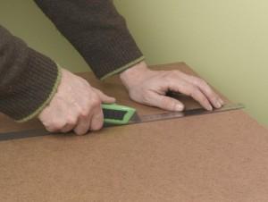 cutting hardboard