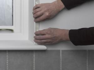 using tile trim