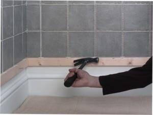 removing tile batten