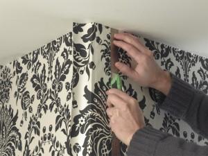 wallpaper corners splicing join