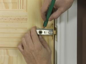 fitting door latch