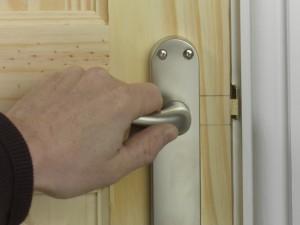 check door handle works