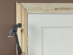 fixing architrave