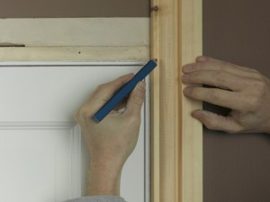 securing architrave