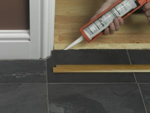 fixing door threshold