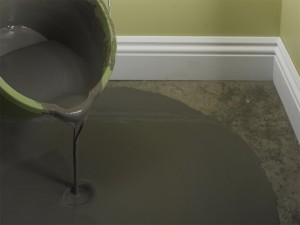 pouring self-levelling compound