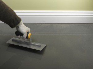 smoothing self-levelling compound