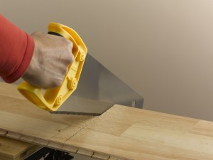 cutting laminate or engineered wood boards