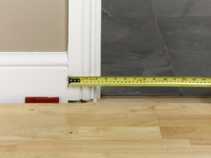 measuring at doorway