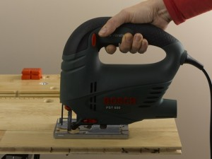 cutting engineered or laminate boards