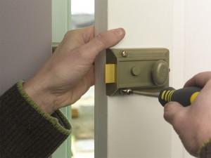 fitting cylinder lock