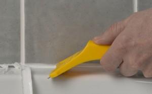 removing silicone sealant