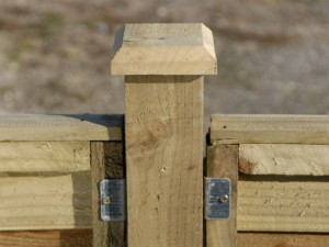 erecting a fence