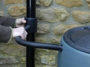 Fitting rainwater diverter kit