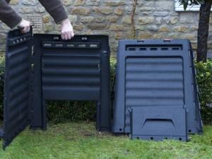 Building compost bin