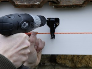 Fixing gutter clip in place