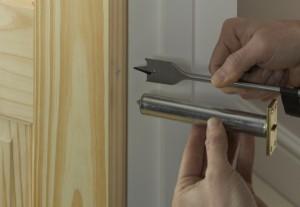 marking door closer position and depth