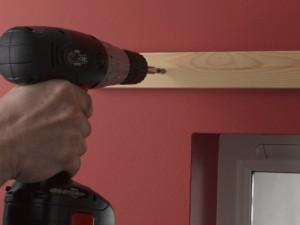 Fixing batten to wall