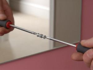 mirror screws