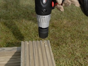 pilot hole decking boards