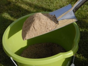 top dressing on lawn