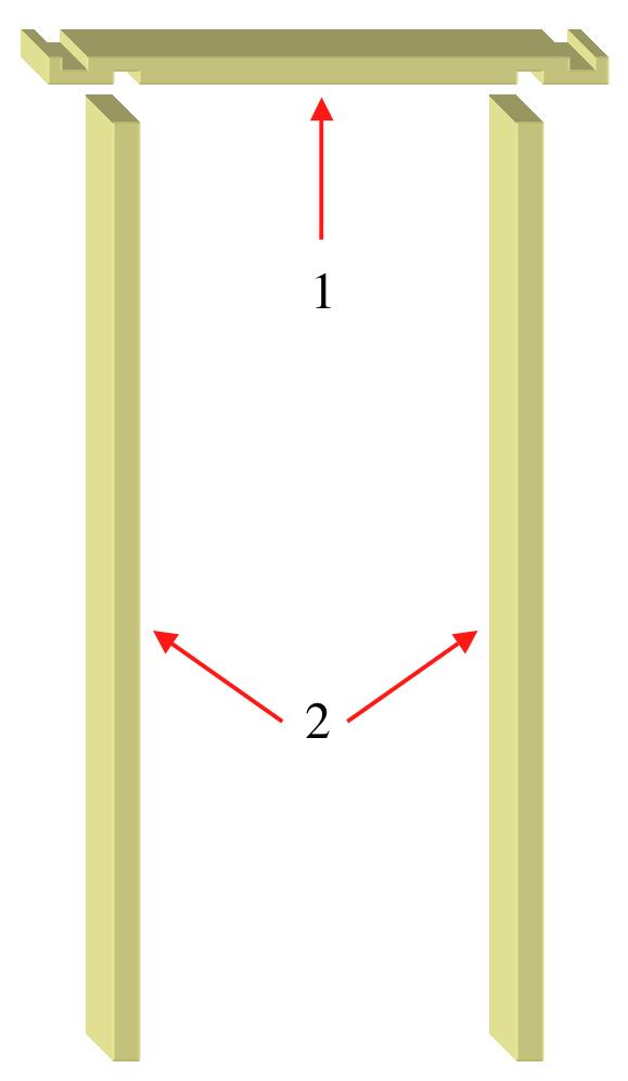 Fixing Internal Door Frame Siteframes
