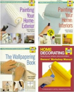 Painting and wallpapering your home books