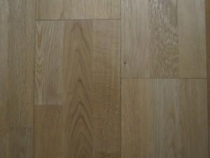 Three strip wood floor