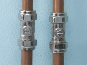 Plumbing isolation valves