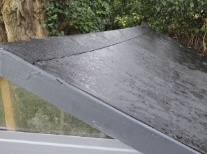 repairing shed roof