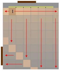 tiling floor