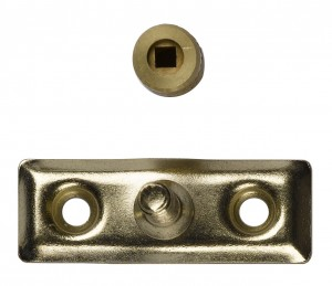 Locking stay pin