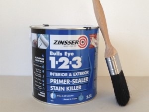 Zinsser 123 primer sealer