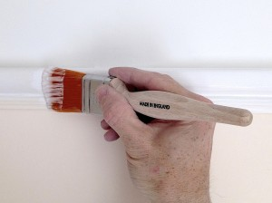 Painting picture rail
